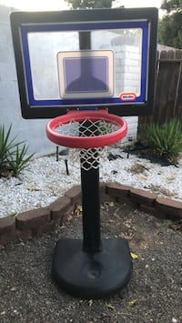Kids basketball hoop and backboard