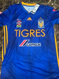 Authentic New Tigres Jersey Custom size M Mission