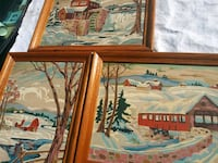 Hand painted art collection Waldorf