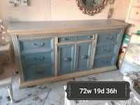 gray and brown wooden sideboard Raleigh, 27612