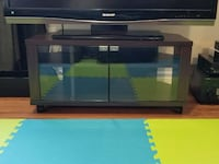 Tv stand with glass doors Ottawa, K1Y 2Y1