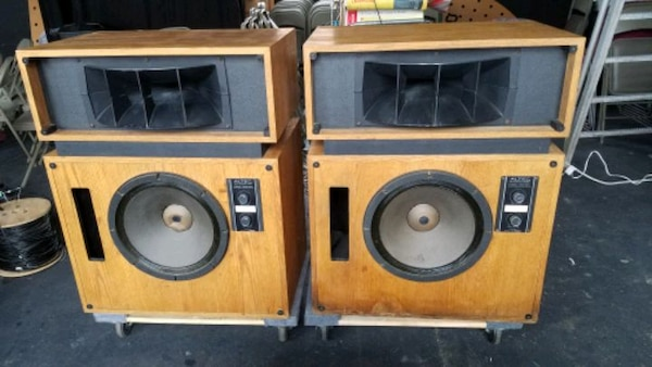 2 Altec Lansing Model 19 Speakers