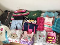 Girls' size 3-4 fall/winter clothes. 23 pieces Silver Spring, 20910