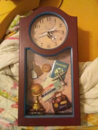 brown wooden analog wall clock Hagerstown, 21742