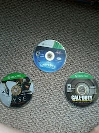 3 Xbox one games. Middletown, 45044