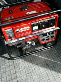 red and black portable generator Cambridge, N1R
