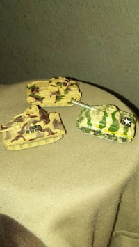 Collectable Army tank set micro machines Colton