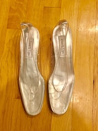 New touch up clear shoes, new in box Rockville, 20853