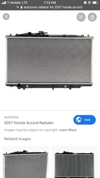 New, never used radiator for 7th gen accord Bayonne, 07002