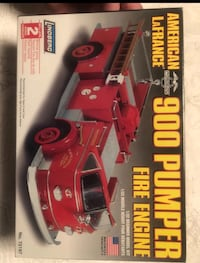 Fire engine model kit Towson
