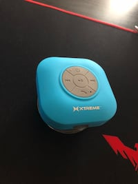 Blue Bluetooth shower speaker never used Oakville, L6M 4S1