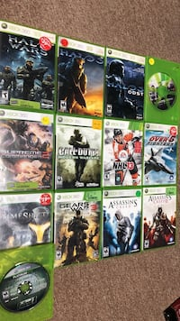 Assorted xbox 360 game cases Sault Ste Marie, P6B 5T5