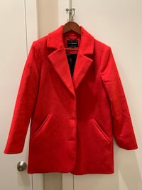 LUCKY BRAND - Red winter coat