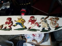 Set of 5 baseball wall plaques Metairie, 70003