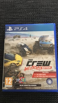 Sony ps4 the crew   Skogsvåg, 5382