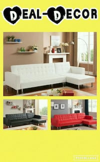 Leather Sectional/Sofa Bed Charlotte, 28201