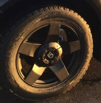 "Dodge Ram 1500 OR Matte Black 20"" Rims Caledon East, L7C 3S3"
