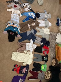 Bunch of 3-6 month clothes (boy)