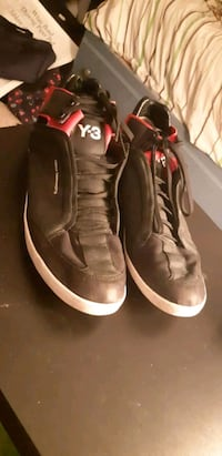 pair of black-and-red Kanye West/Yohji Yamamoto  Newmarket, L3Y 3J8