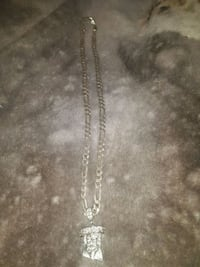 Real silver chain with Jesus pendant Mississauga, L5L