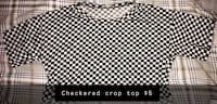 Checkered crop top Mission, 57555