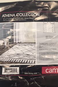 Athena rug 5x7 brand new just opened Surrey, V3S 0L8