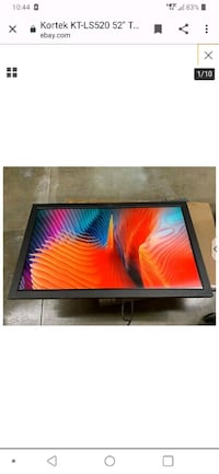 42in kortek 3d lcd gaming monitor great condition