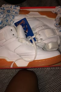 White and gum bottom Patrick Ewing's negotiable