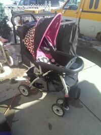 Girl Flower Stroller+matching playpen Calgary, T2A 6E4
