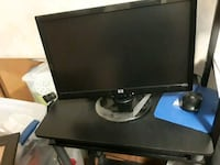black Dell flat screen computer monitor Fargo, 58103