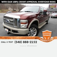 2008 Ford Super Duty F-250 SRW King Ranch Stafford, 22554