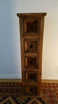 Solid wood 5 drawer chest  San Diego, 92103