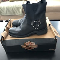 Harley Davidson Motorcycle Boots 65 km
