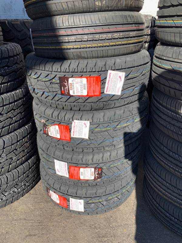 265 70r16 Set Of 4 All Terrain Tires On Sale We Finance No Credit
