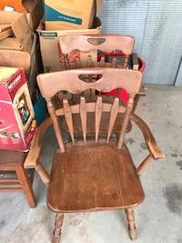 Pair of antique chairs  Fresno