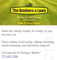 Lawn mowing Norfolk
