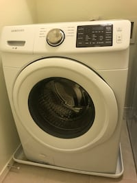 Like-new Samsung Front-load Electric Washing Machine and Dryer Phoenix, 85042