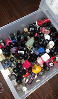 Assorted nail polishes 200+ bottles
