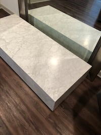 RH Modern Marble Coffee Table 67x24x12 Dallas, 75219