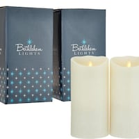"""Touch Candle Set of 2 7"""" Candles in Gift Boxes"""