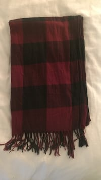 Red and Black Buffalo Plaid scarf Coquitlam, V3J 6T2