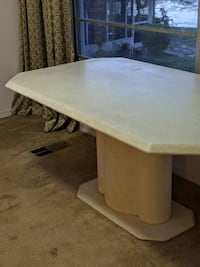 Marble table and crendenza JACKSONVILLE