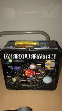 Our solar system printed lunch box Oxnard, 93035