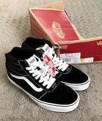 New! Men's Vans Ward hi-top paid $65 size 11 New with tags & box. Hyattsville, 20785