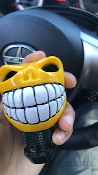 yellow and black plastic toy