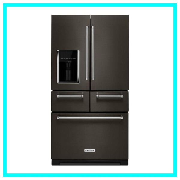 Scratch and Dent KitchenAid French Door Refrigerator KRMF706EBS