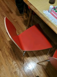 Red IKEA Chairs Seattle, 98109