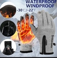 Winter warm gloves / waterproof and Touch screen / Unisex  Toronto, M4J 4J6