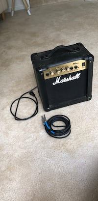 Marshall MG10CD Amp with cords Fairfax, 22030