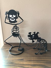 Partylite Bones and Sticks Metal Candle Holders  Lake Elsinore, 92530